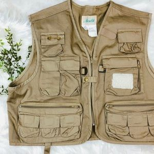 Jackets & Blazers - Ausable VTG Brooched Fisherman's Utility Vest
